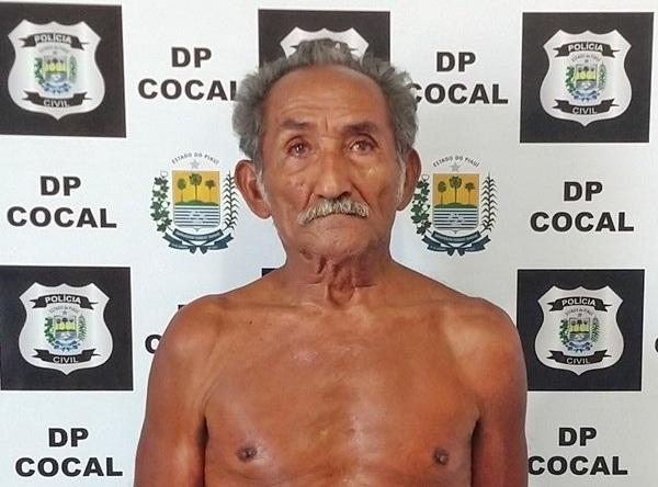 Idoso é preso acusado de estuprar duas bisnetas no Piauí