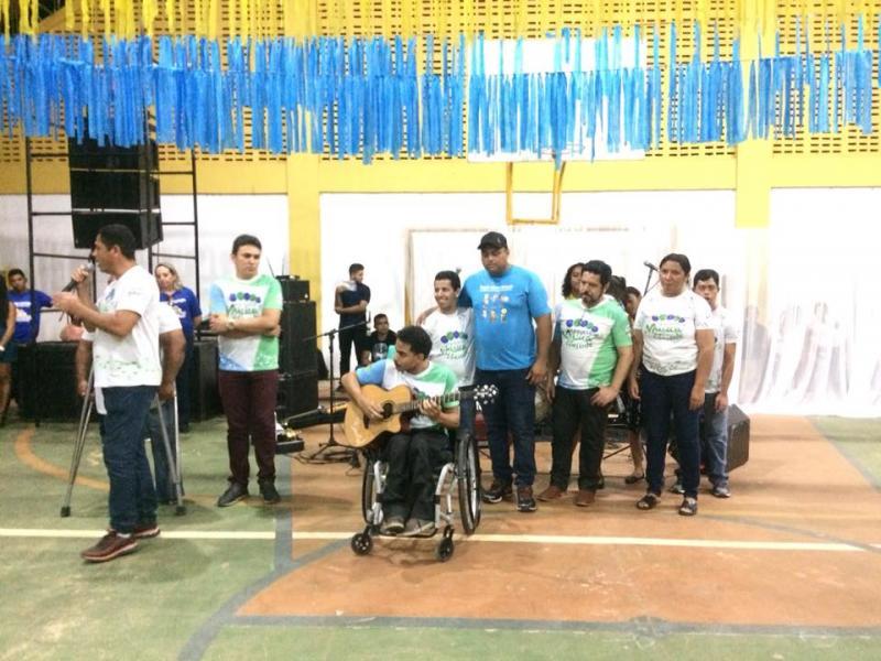 Prefeito celebrou a abertura da II Semana Cultural de Pau D'Arco do Piauí