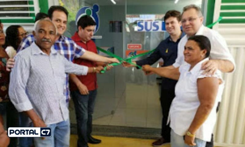 Diego Teixeira participa da inauguração de estruturas de Saúde em Amarante