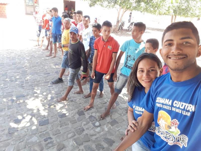 Segundo dia de programação da II Semana Cultural de Pau D'Arco do Piauí