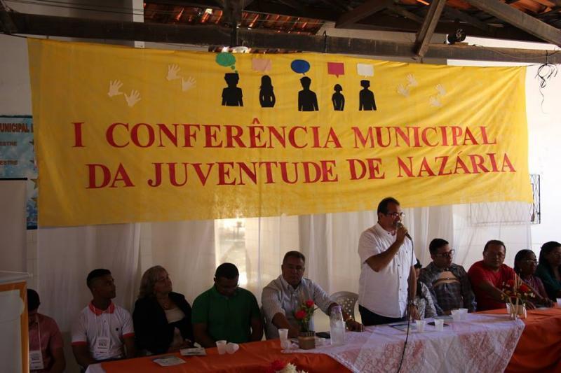 Prefeitura de Nazária realiza a I Conferência Municipal da Juventude