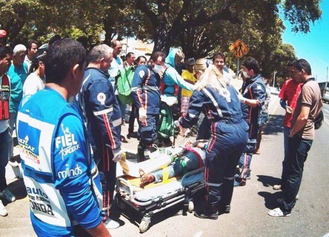 Colisão entre mototaxistas deixa uma pessoa gravemente ferida no piauí
