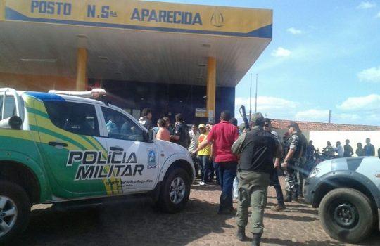 Criminosos armados assaltam posto de combustível no Piauí