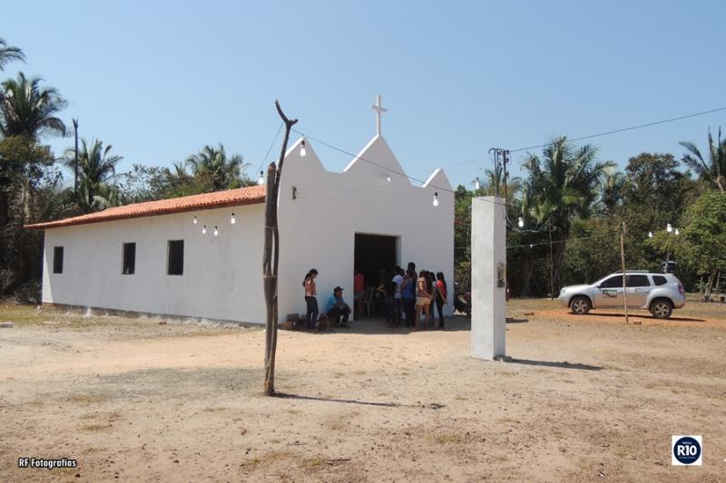 Santa Missa de encerramento festejos de N. Sra. das Dores em Lagoa Dantas