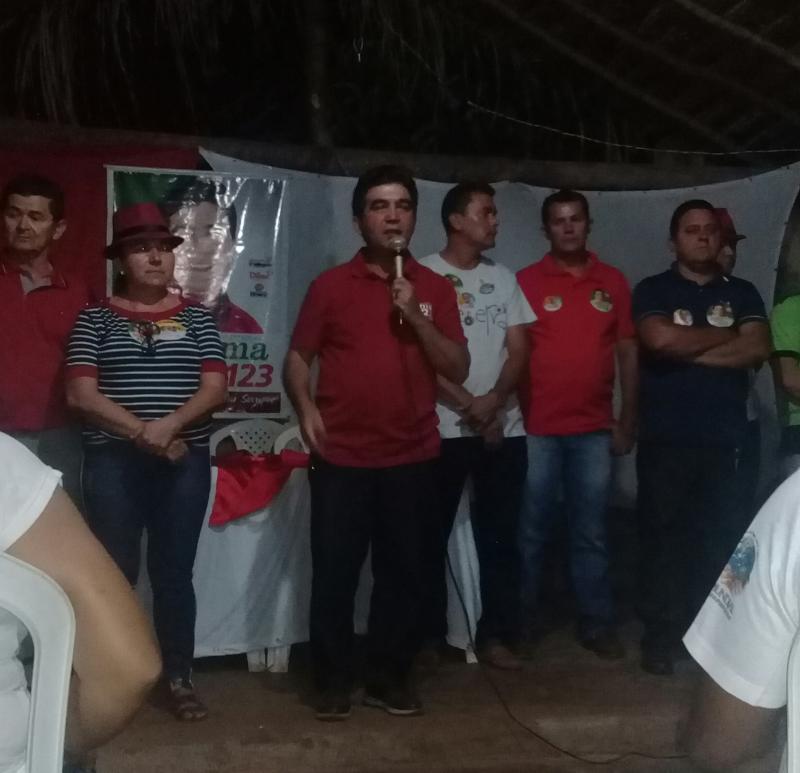 Deputado Limma participou de palestra na comunidade Cabeceiras