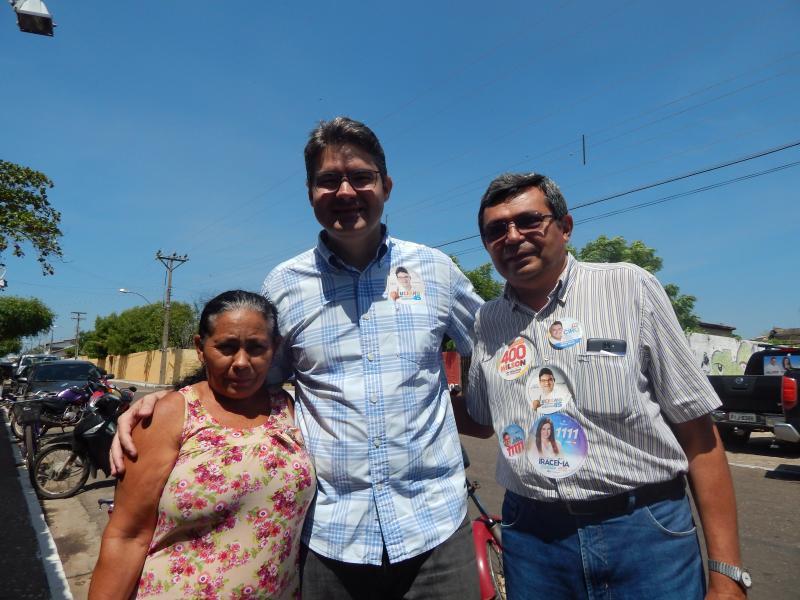 Candidato a Governador pelo PSDB visita Beneditinos
