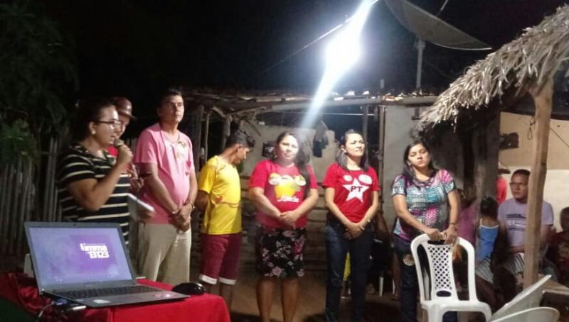 Apoiadores do deputado Limma realizaram reunião na comunidade Cabaceiro