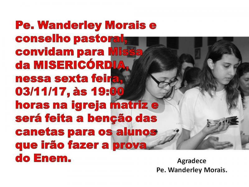 Missa da Misericórdia em Demerval Lobão