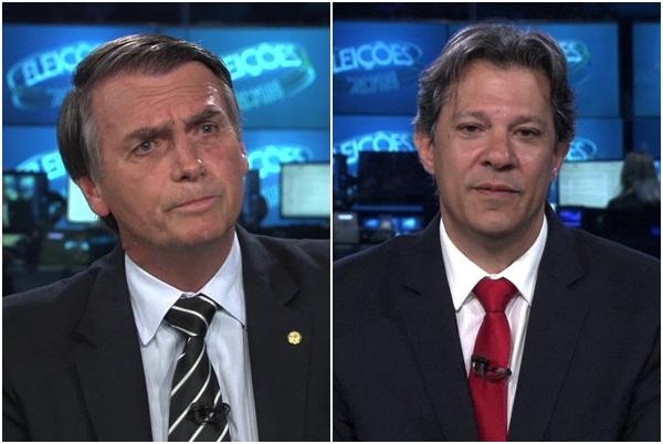 Haddad abre sete pontos contra Ciro; Bolsonaro mantém liderança