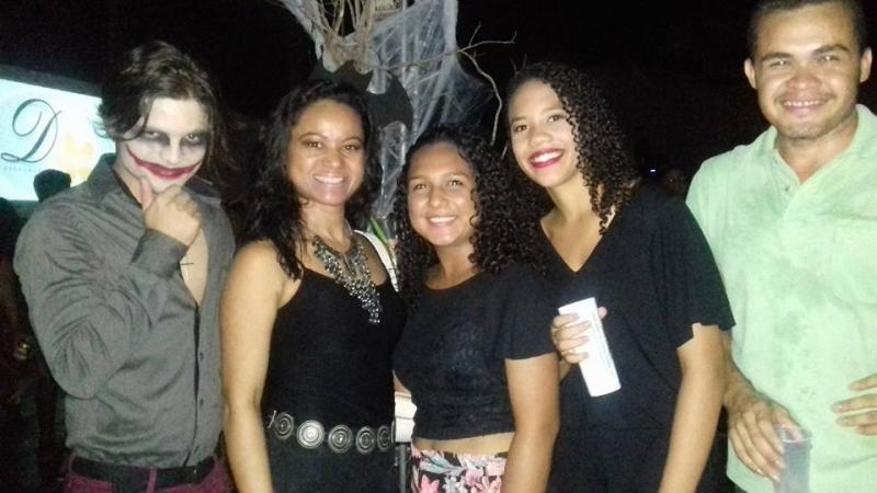 Grande público prestigia a I Balada Halloween dos Alunos do PRONATEC