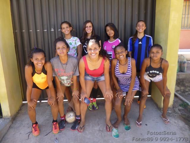 Futsal feminino tenta sobreviver em Itaueira