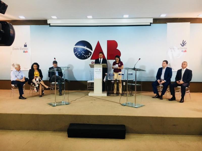 Confira o debate entre candidatos ao governo na OAB-PI