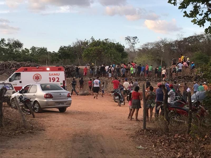 Dois homens morrem soterrados em olaria no Piauí