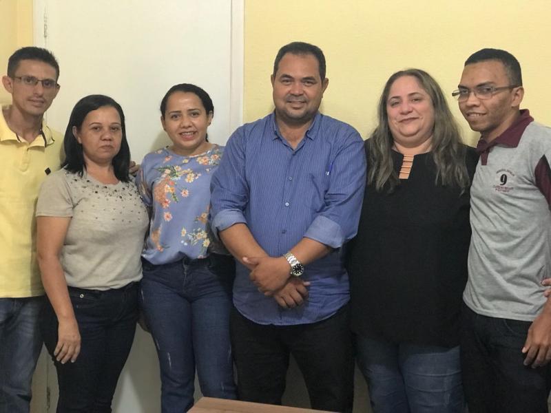 Equipe da Secretaria de Saúde de Beneditinos visitam município vizinho
