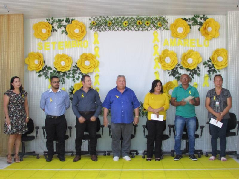 Setembro Amarelo é realizado pela Prefeitura de Lagoinha