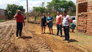 Mais uma Rua em Uruçuí recebe pavimentação asfáltica