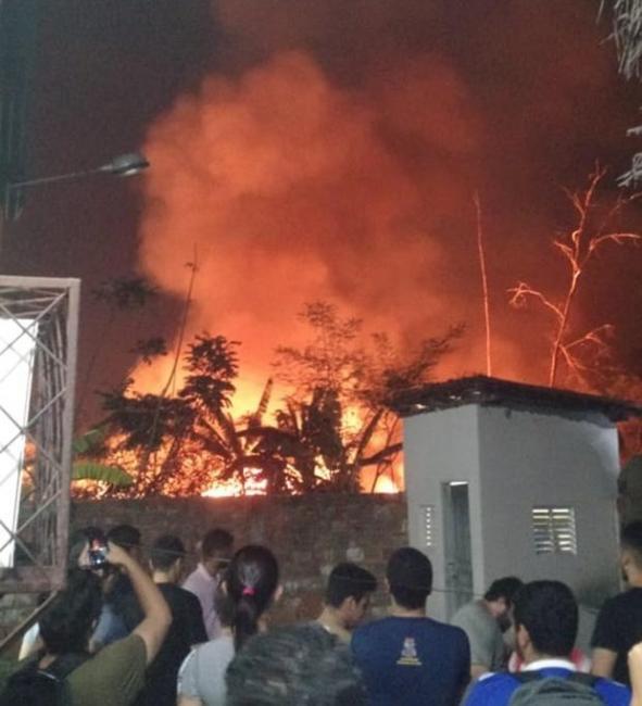 Incêndio atinge campus da Universidade Estadual do Piauí