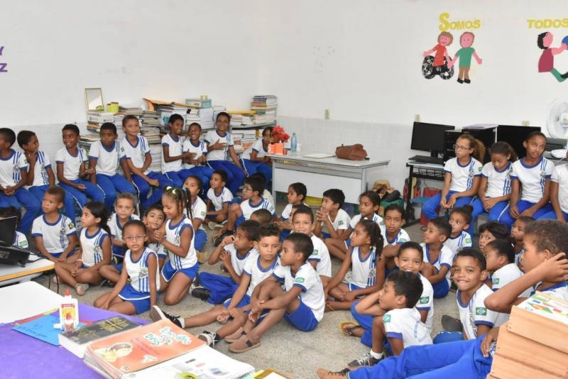 Escola Mun. Câmara Júnior recebe projeto contra queimadas e incêndios