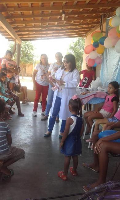 Equipe de saúde de Prata do Piauí faz atendimento odontológico domiciliar