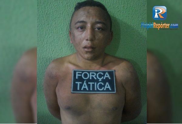 PM prende foragido da justiça que ameaçava policial no Piauí