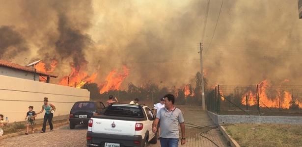 Defesa Civil registra 22 queimadas desde agosto em Teresina