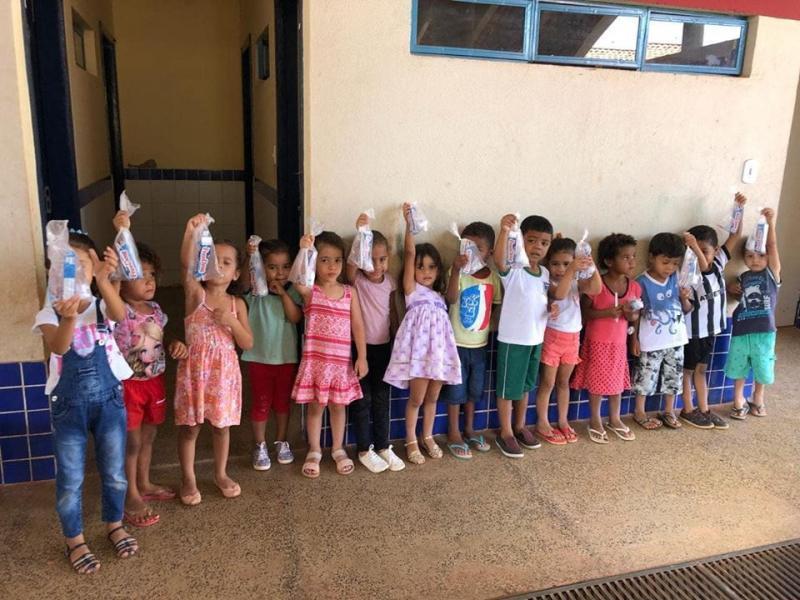 Programa Saúde na escola é desenvolvido em Corrente