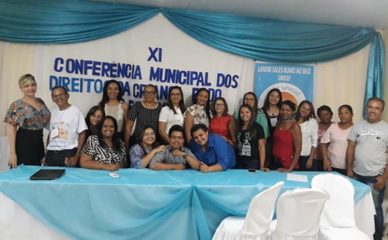 Landri Sales realizou a XI Conferência Municipal do CMDCA