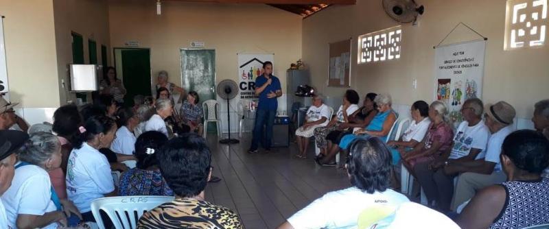 Assistência Social promove palestra para Grupo de Idosos sobre saúde