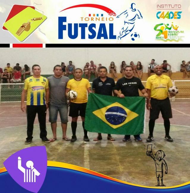 Abertura do Torneio de Futsal em Demerval Lobão