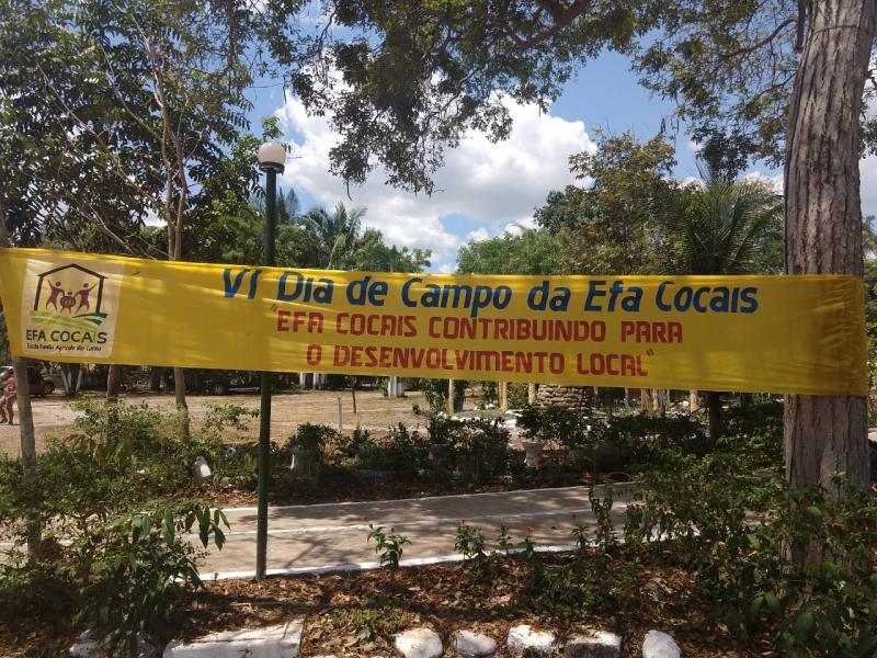 Escola Família Agrícola dos Cocais realizou VI dia de campo