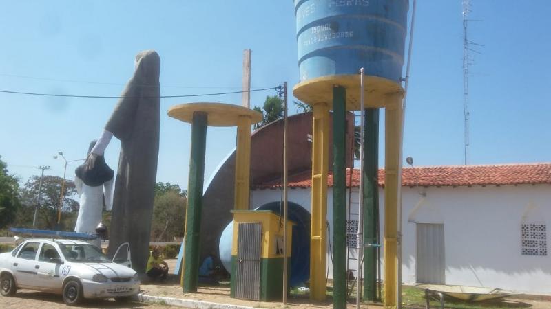 Prefeitura  realiza manutenção e limpeza nos reservatórios de água