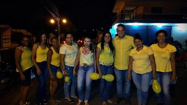 Prefeito Diego Teixeira participou de caminhada do Setembro Amarelo