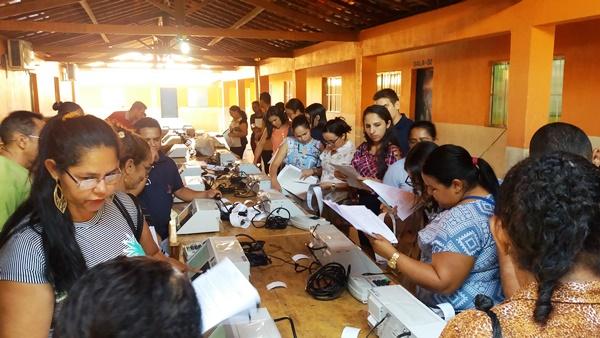 Mesários de Agricolândia que vão atuar nas eleições 2018 participam de trei