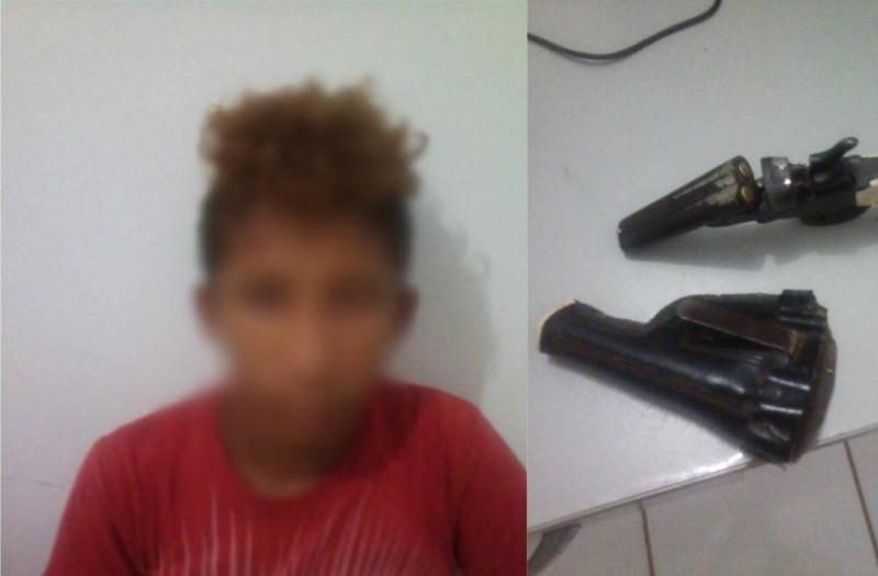 Menor é apreendido após realizar disparos em via pública no Piauí