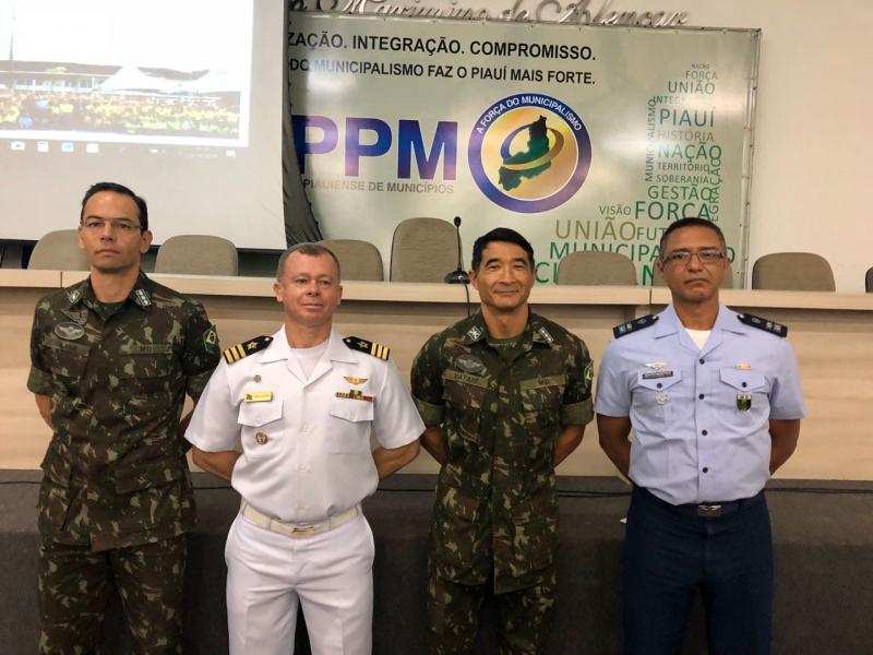 Projeto Rondon realiza reunião com municípios da Operação Rio Parnaíba