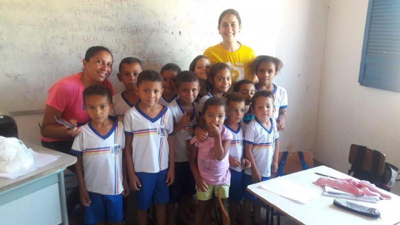Equipe de saúde da Família da Zona Rural realiza ação da verminose