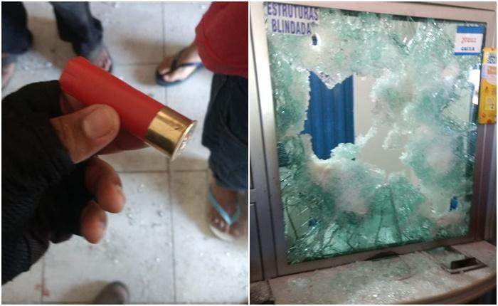 Bandidos atiram em casa lotérica e fazem reféns no Piauí