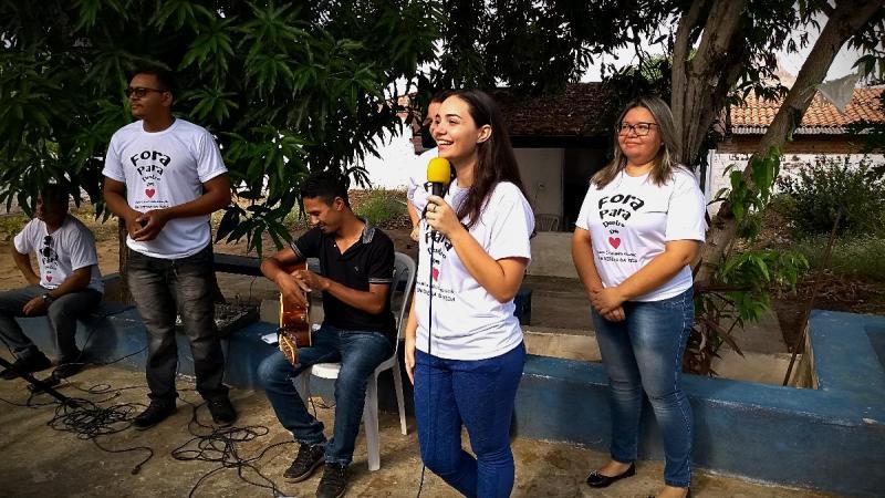 Caps inicia projeto intitulado 'Valorização da Vida' em Amarante; veja