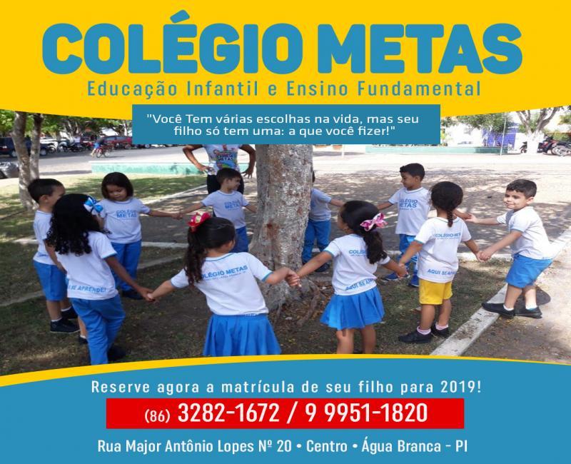 Colégio Metas lança Projeto Sustentabilidade