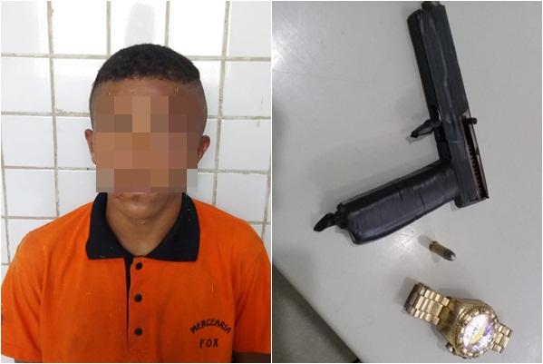 Suspeito de assalto é agredido pela população em Teresina
