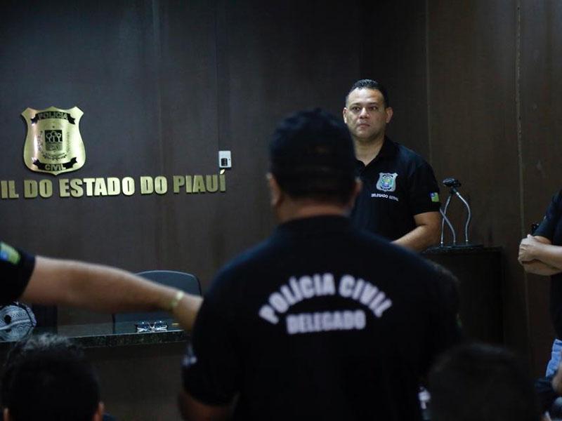 Operação de combate a crimes patrimoniais cumpre mandados no Piauí