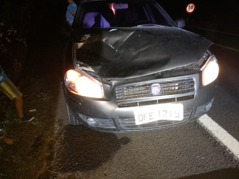 Secretário de Educação de Lagoinha do Piauí sofre acidente na BR 316