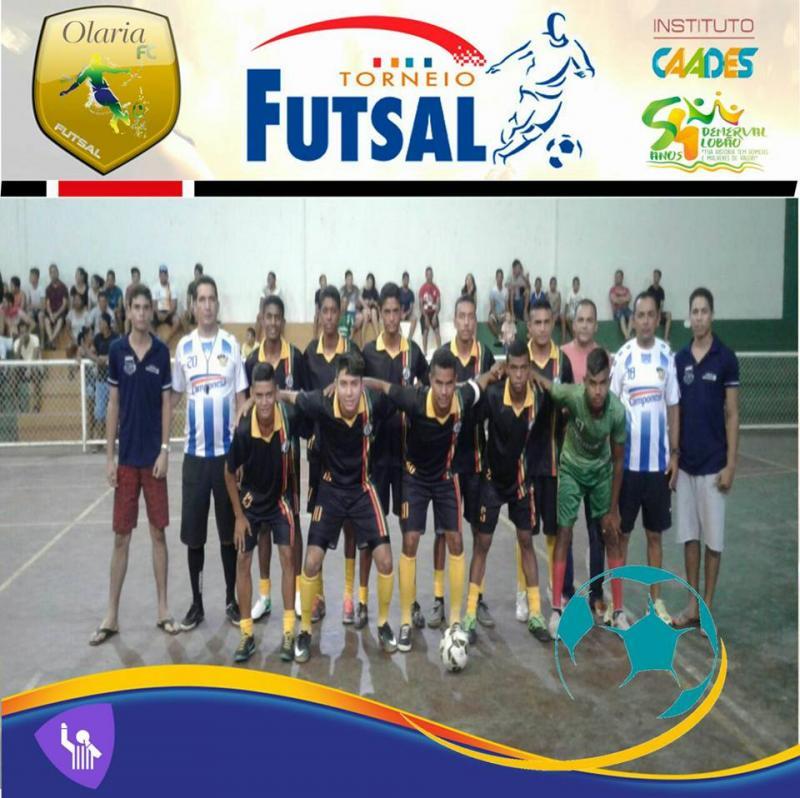 Segundo dia do torneio de futsal em Demerval Lobão