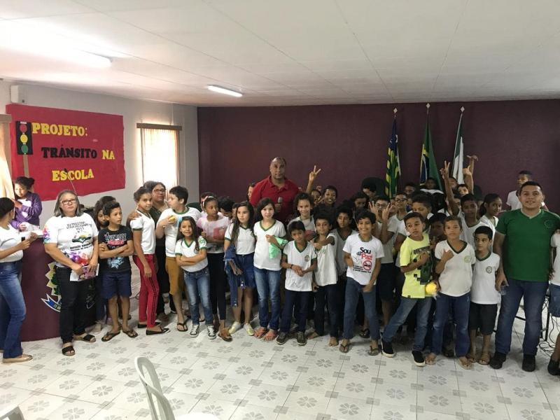 Escola de Demerval Lobão realizará culminância de projeto de trânsito