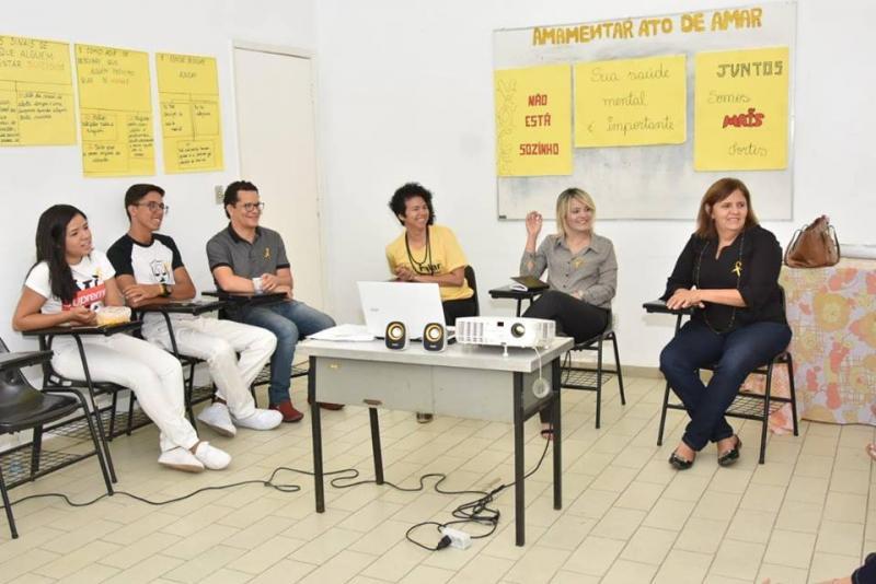 Saúde Municipal aborda temática de valorização à vida em roda de conversa