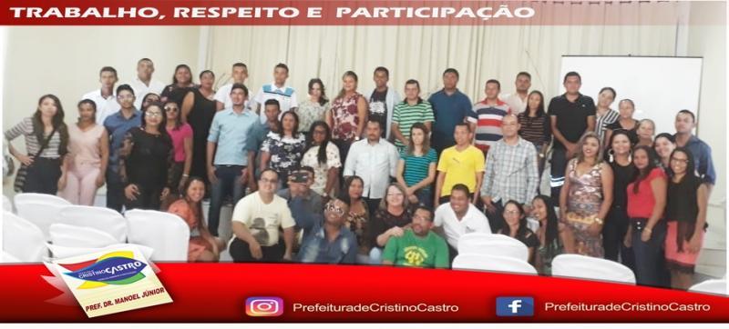 Cristino Castro sediou o IV  SEMINÁRIO da ACONTEP DA QUARTA REGIONAL-PI