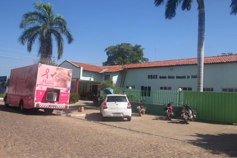 Unidade móvel realiza exames de mamografia em São João do Arraial