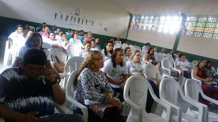 Conselho Tutelar de Curralinhos participa de congresso em Água Branca