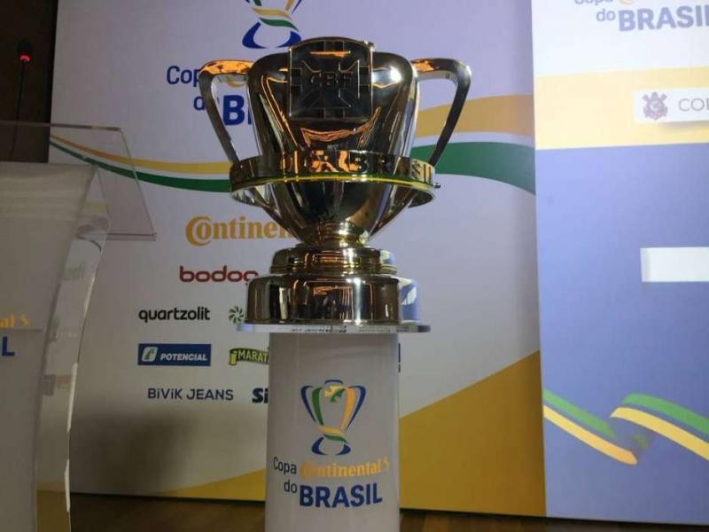 Foto: Twitter Oficial / Copa do Brasil / Estadão Conteúdo