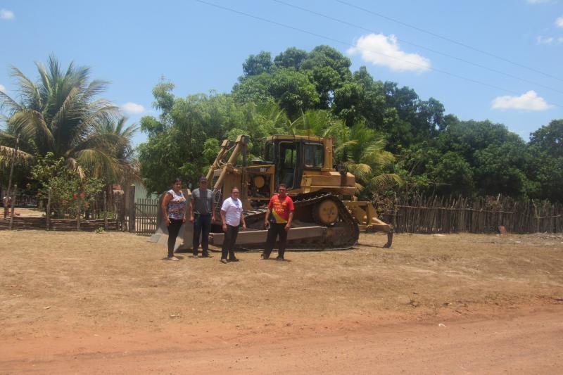 Teve início a obra do asfaltamento de São João do Arraial a Matias Olímpio